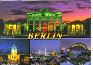 How Anberlin got their bandname - Berlin postcard