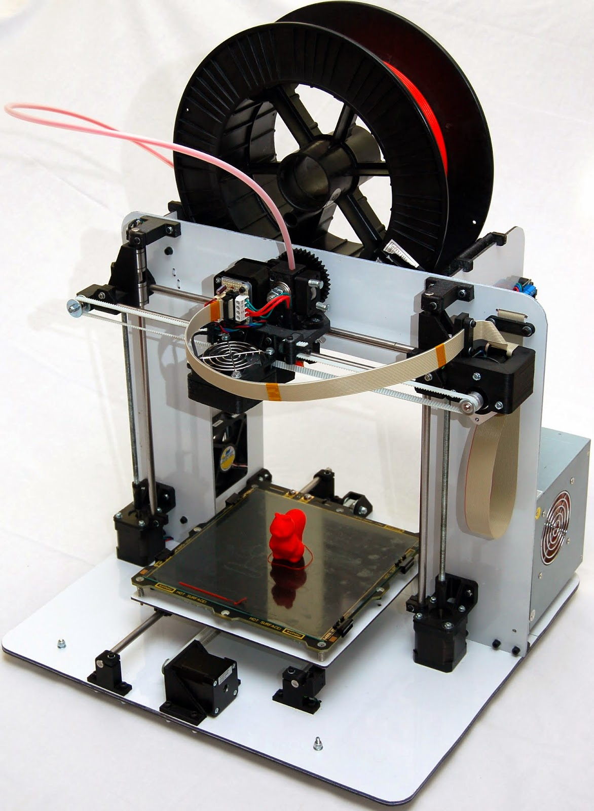 Ivors 3d Printing Blog October 2013 Pushing The Curve Reprap Printed Circuit Boards Dreams It Prints Very Well And Is Faster More Precise Than My Older Printer New Electronics Also Allows Greater Automation Ive Previously Had