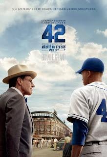 42 Baseball Biopic Poster