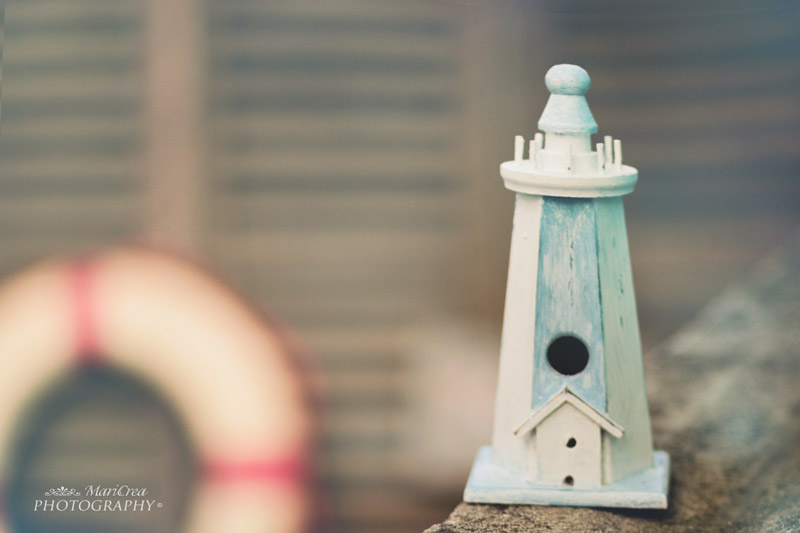 DIY wooden lighthouse