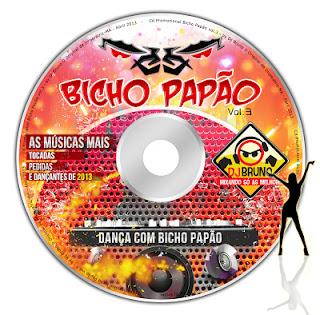 CD BICHO PAPÃO VOL.3 - Dj Bruno O Original
