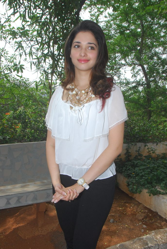 Tamanna Latest Stills in White Top