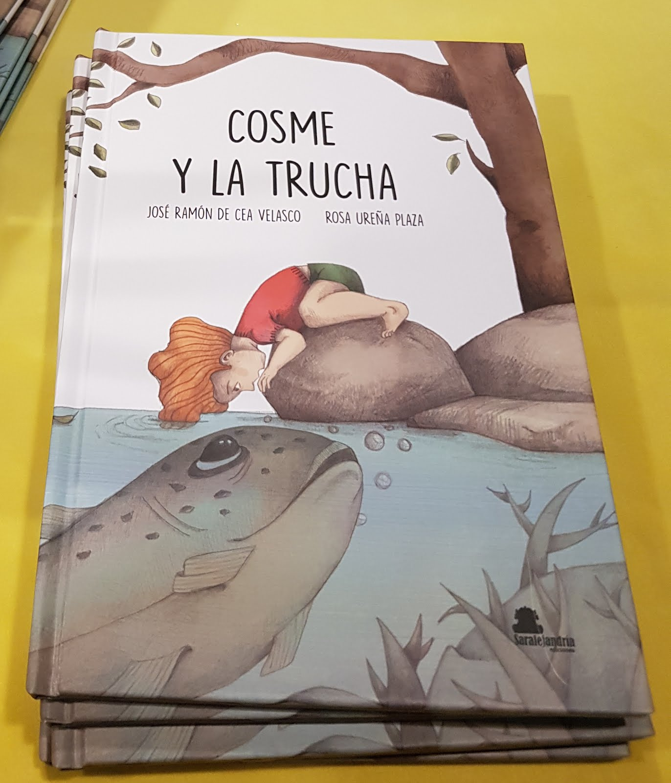 """""""COSME Y LA TRUCHA"""""""