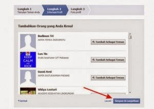Cara Membuat Facebook Tambahkan Orang Yang Anda Kenal