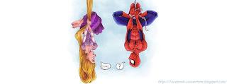 couverture facebook cartoon spiderman