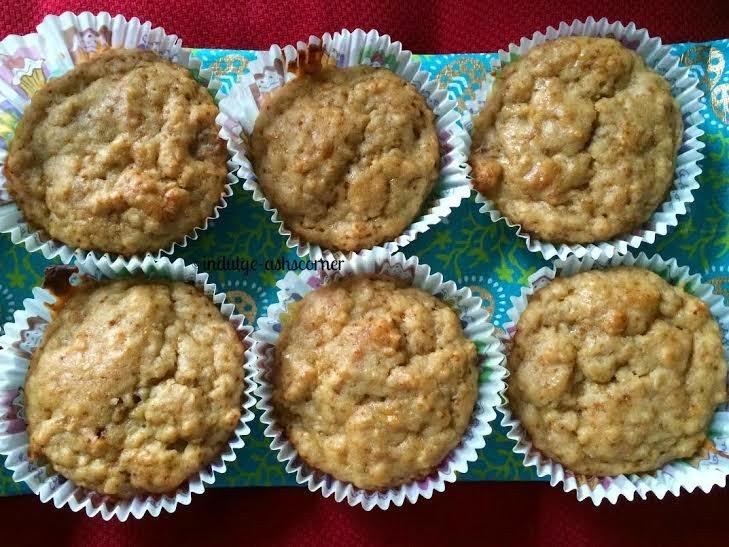 Oats Banana Muffin--Glutten free