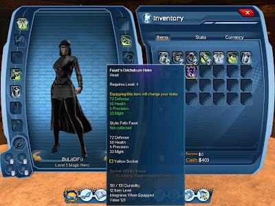 DC Universe Online - PVE Equipment