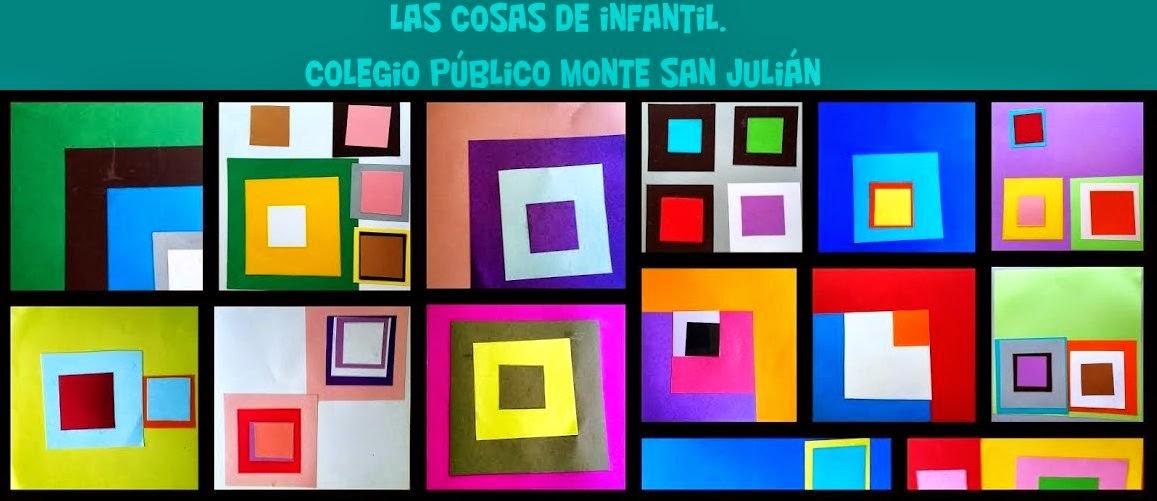Las cosas de infantil. Colegio Público Monte San Julián. Tudela