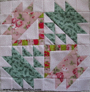 Tutorial how to make a basket quilt block