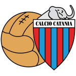 Logo Tim Klub Sepakbola Calcio Catania PNG