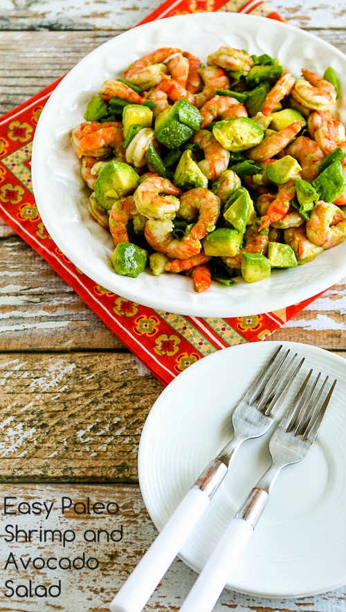 Easy Paleo Shrimp and Avocado Salad (Low-Carb, Gluten-Free) | Kalyn's ...