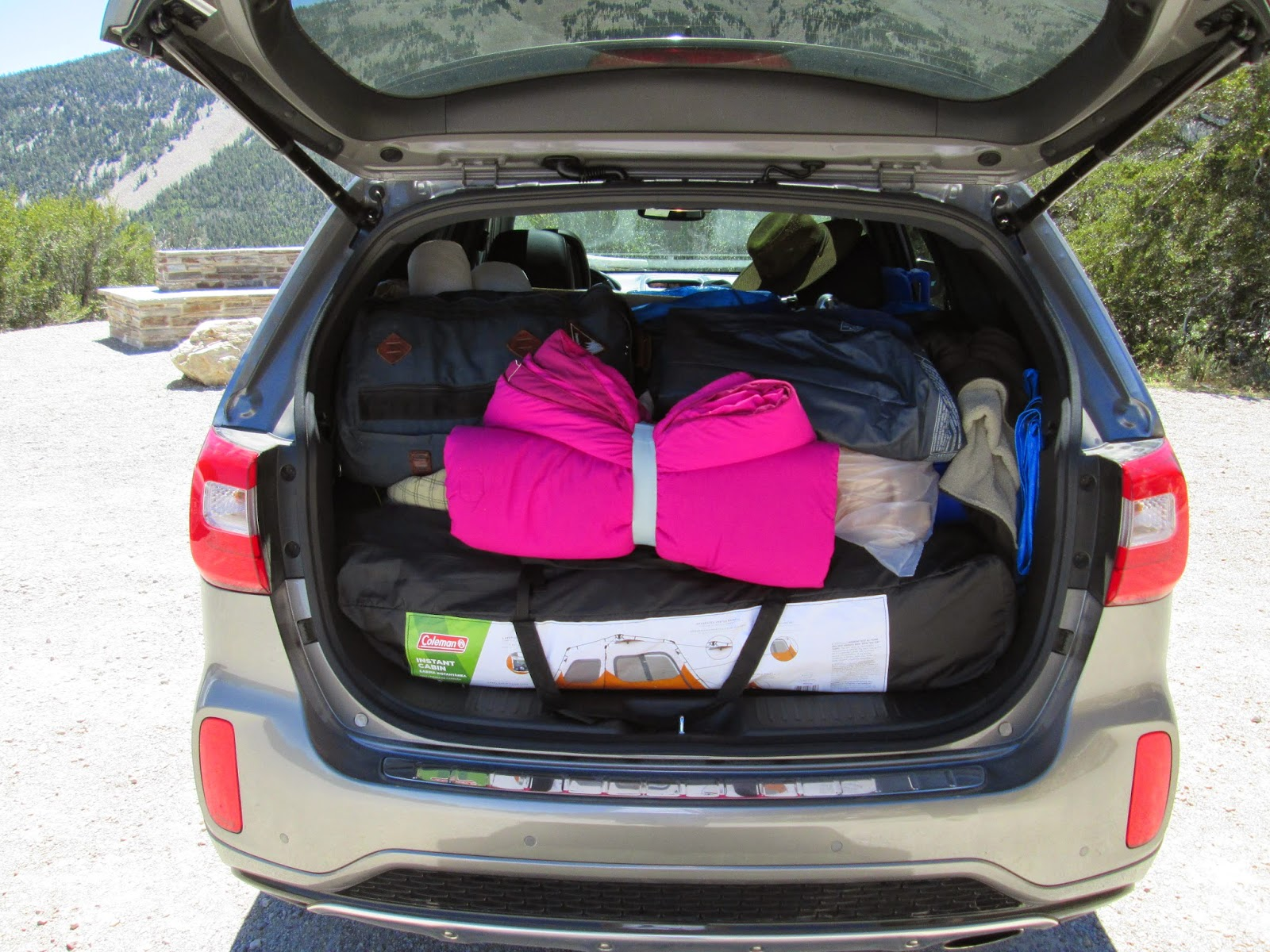 2015 Kia Sorento loaded rear