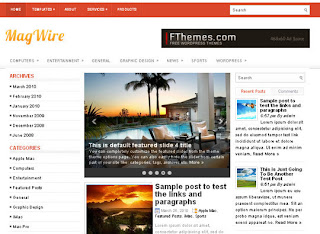 WordPress-Template MagWire