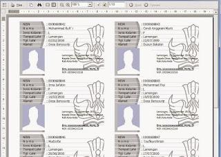 Tutorial Lengkap membuat kartu NISN siswa