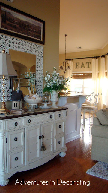 entrydeb Traditional ranch style home tour in Myrtle Beach, SC