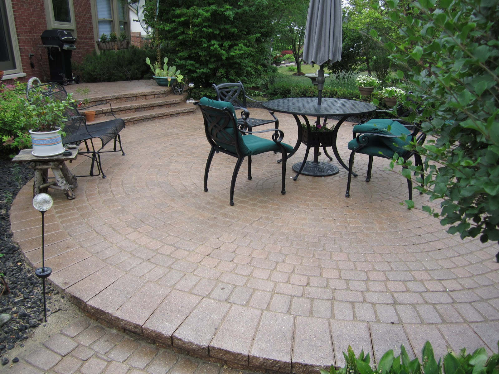 Backyard Ideas Pavers : Brick Patio Ideas Brick patios designs