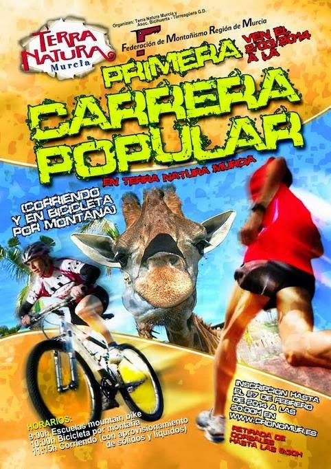 Primera Carrera Popular Terra Natura Murcia