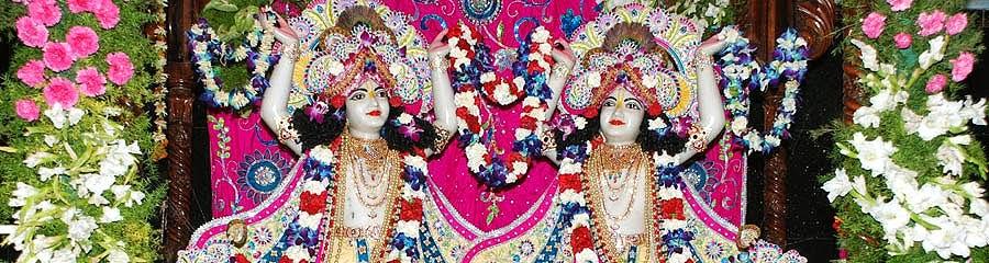 ISKCON Temple Hyderabad (Andhra Pradesh), India
