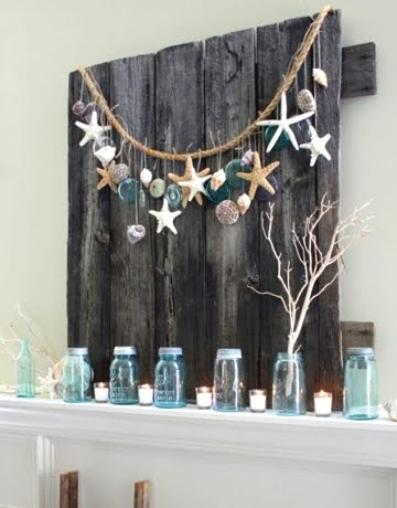 Make A Coastal Rope Garland As Featured On Beach Style Summer Mantels For More Ideas Click Here It S Post About Using Christmas
