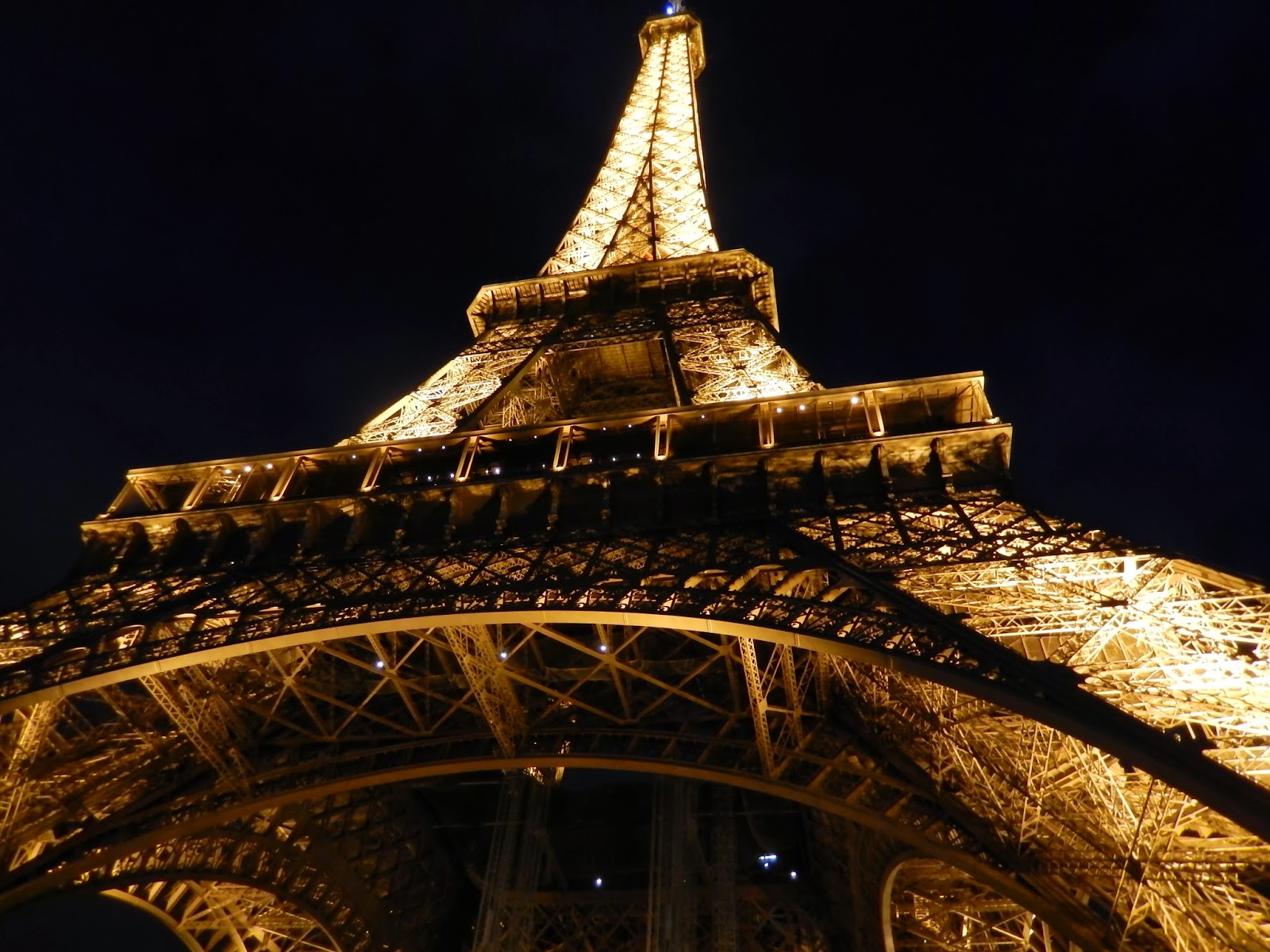year in pictures Eiffel Tower