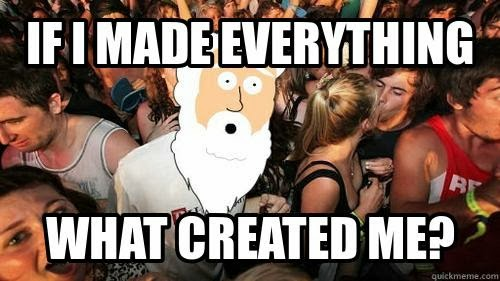 Funny God Made Everything Meme Picture