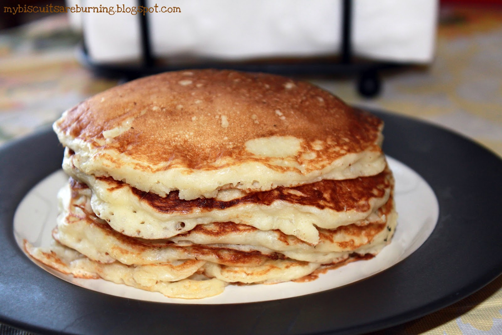 My Biscuits are Burning: Best Buttermilk Pancakes (Martha Stewart)