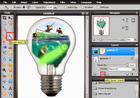 Membuat Manipulasi Foto Online
