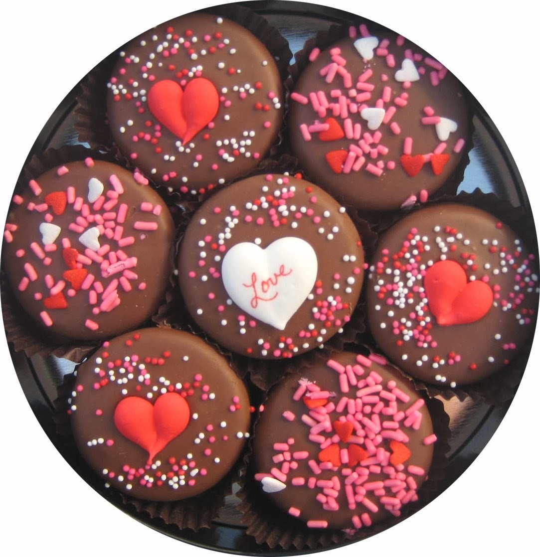 Chocolate Dipped Oreo Cookies decorated with Love 7 Oreo Assortment