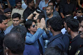 Shahrukh Khan and Rohit Shetty Promote Chennai Express