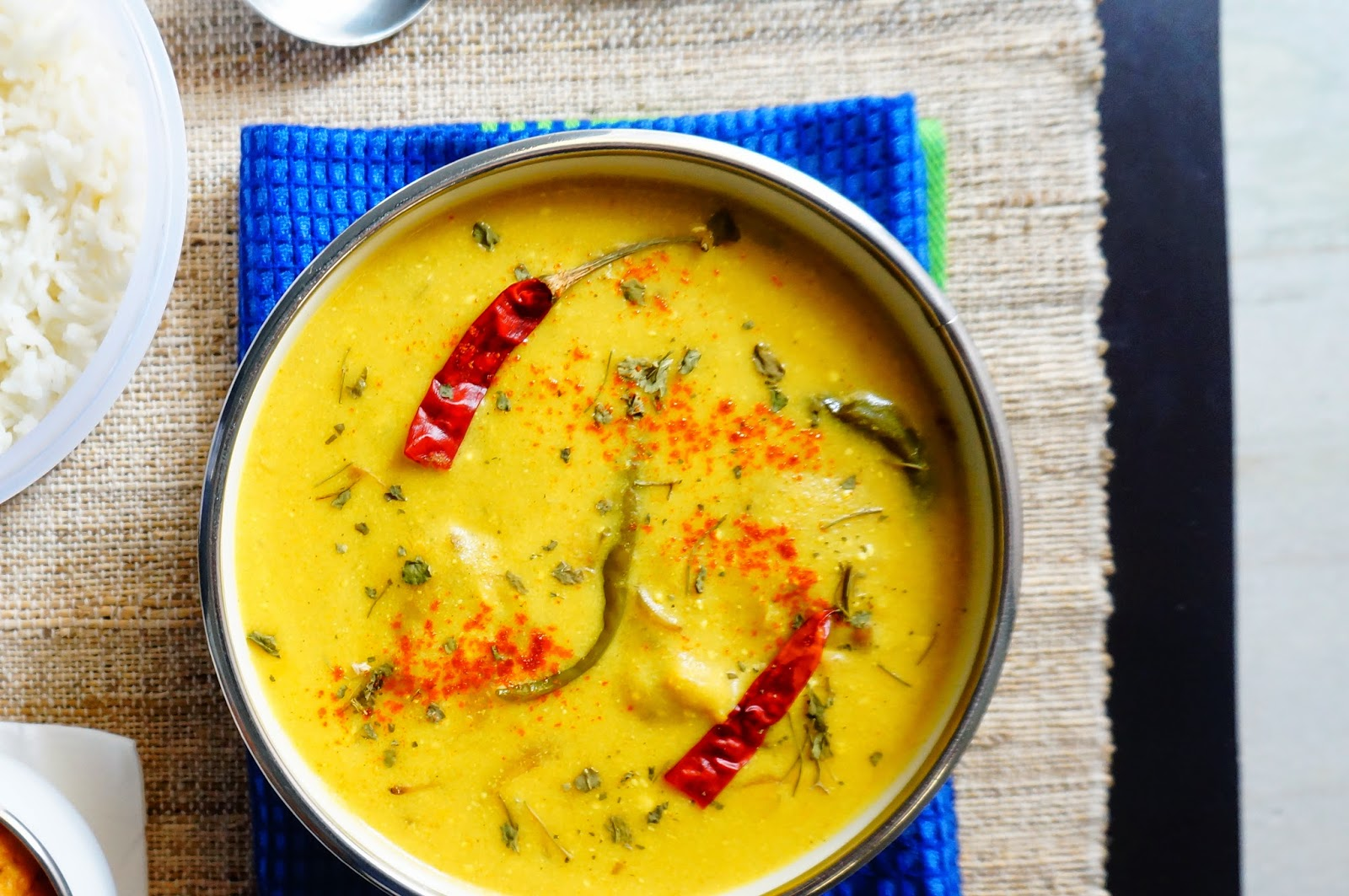 kadhi,kadhi chawal,punjabi kadhi,vegetarian,curry,indian, kadhi pakoda,gluten free