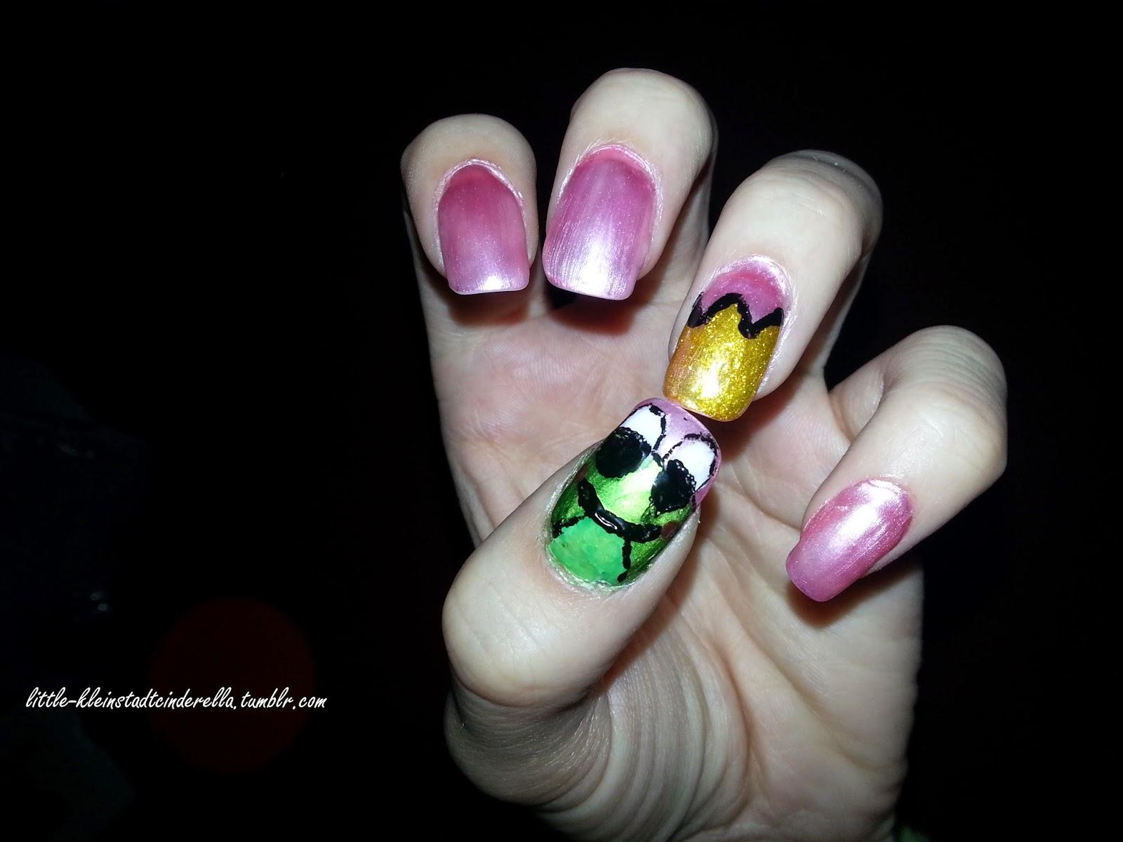 Kleinstadtcinderella´s little Wonderland : Meine Gel-Nägel