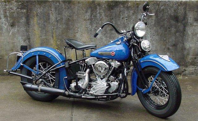 Harley Knucklehead Custom