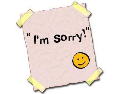 ادب وفن الاعتذار فى المواقف المختلفة - i'm sorry - i am sorry - apology - انا اسف - الاعتذار