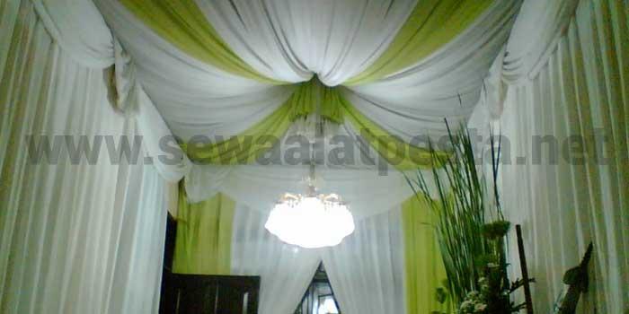 tenda full dekorasi