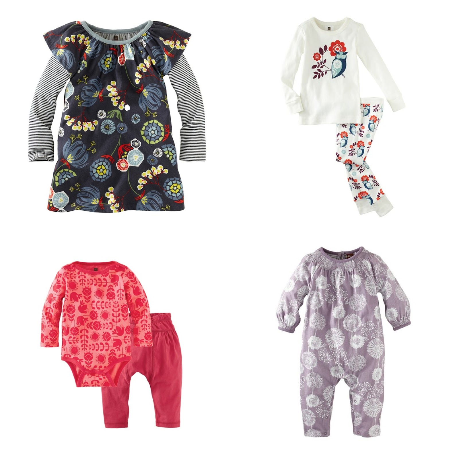 The Sweetest Baby Clothes Tea Collection Swiss Lark