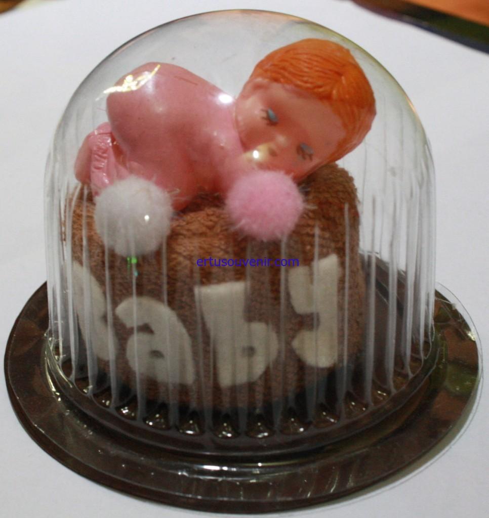 Souvenir Pernikahan Handuk bentuk Baby