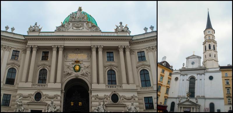 Horburg front facade in Vienna, Austria