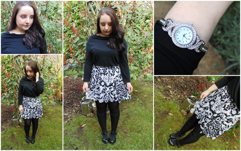 1 Skirt, 3 Ways Ft. George @ Asda  #LetsGetSkirty