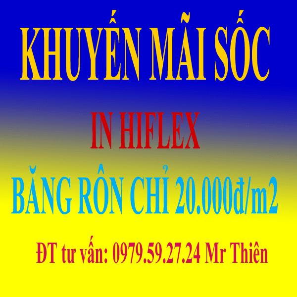 in hiflex - băng rôn