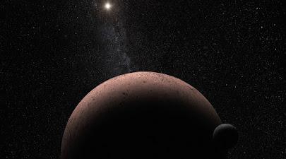 دورترین سیاره کوتوله منظومه خورشیدی یک همدم نیز دارد