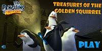 Пингвины ищут сокровища золотой белки