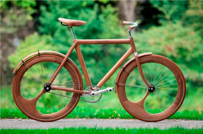 Current Love: A Wooden Bike