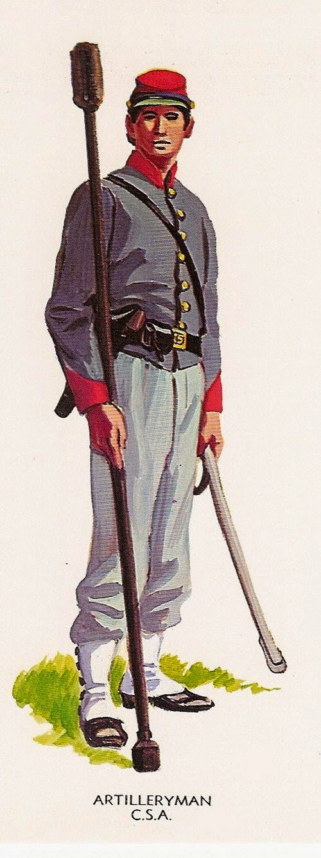 Confederate Artillery man