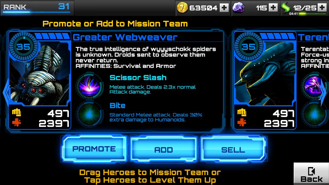 Stuff For Guys Star Wars Assault Team Terentatek Levels And