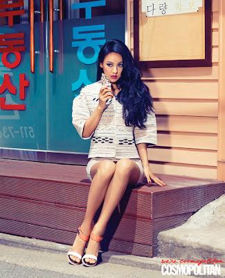 Hyori Sexy Miss Korea Cosmopolitan Magazine June 2013