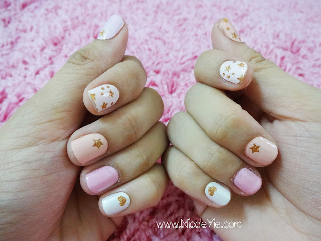 Beauty] Love Nail - Instant Nail Applique Review (Sweet Goddess ...