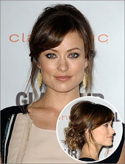 Holiday Hairstyles, Celebrities Holiday Hairstyles, Olivia Wilde