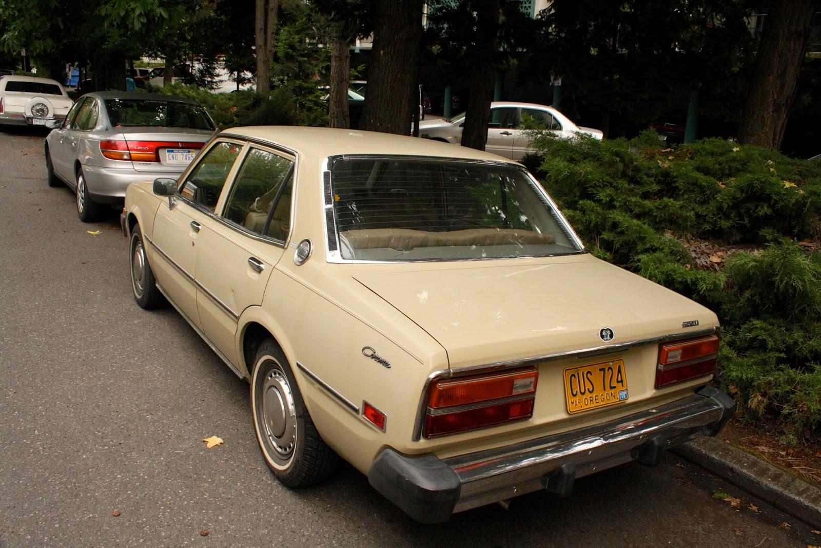 1977 Toyota Corona sedan