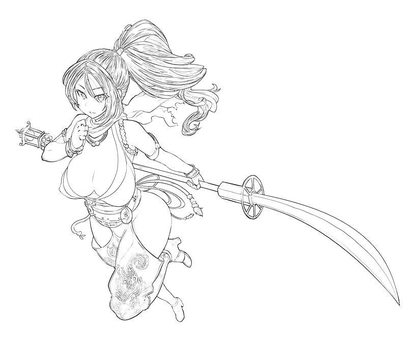 Ninja Gaiden 3 Momiji Weapon