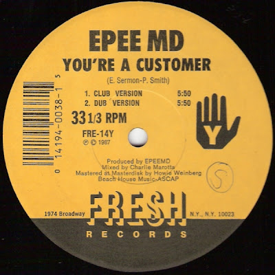 EPMD – It's My Thing / You're A Customer (VLS) (1987) (192 kbps)